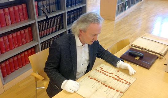 Johann Hammer im Archiv
